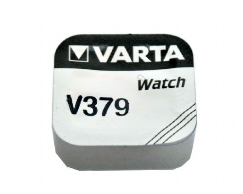 Varta 379 16mAh 1.55V Electronic Silver Oxide Coin Cell Battery (V379)
